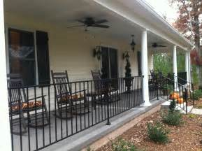 Metal Porch Pickets A Makeover Going Home