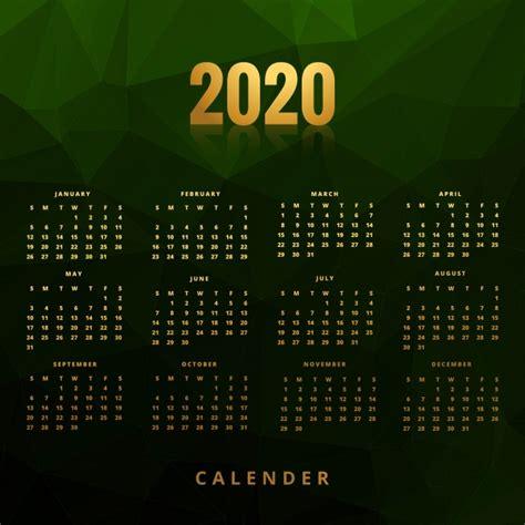 business calendar concept design  green polygon backgro abstract calendar business