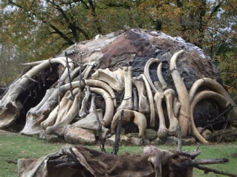 hutte en os de mammouth site de l cole de taillebourg 17350