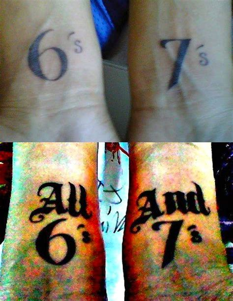 tech n9ne tattoos strange inc fan shows all 6 s and 7 s tattoos