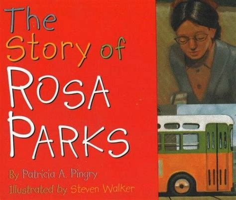 a picture book of rosa parks the story of rosa parks a mighty