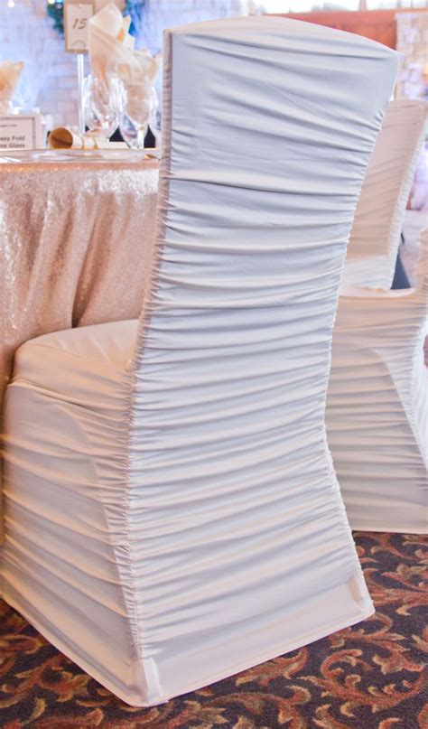 Ruched Chair Covers by Best 25 Wedding Chair Covers Ideas On