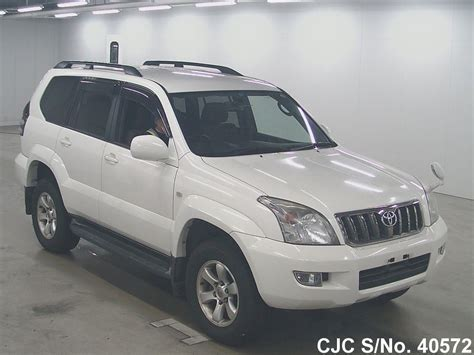 2006 Toyota Prado For Sale 2006 Toyota Land Cruiser Prado White For Sale Stock No