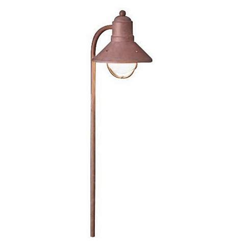 kichler low voltage landscape lighting kichler olde brick low voltage landscape lantern 53612