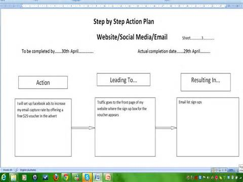Simple Strategic Plan Template A Strategic Planning Template For Dummies