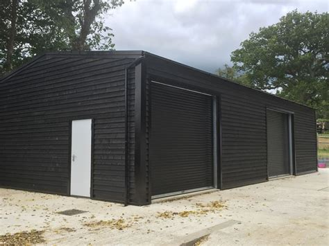 Cladding Sheds by One Of Our Steel Framed Building Used As A Rural Workshop
