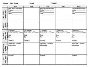 Reading Recovery Lesson Plan Template by Lli Lesson Plan Templates Even Days Green The O Jays