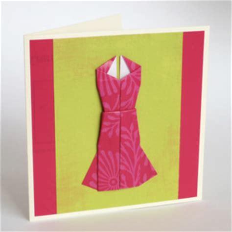 Origami Birthday Present - money origami dress folding with photos