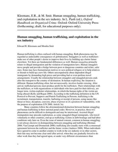 Human Trafficking Essay by Essay On Human Trafficking And Globalization Docoments Ojazlink