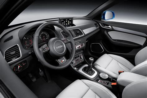 audi q3 dashboard 2015 audi q3 facelift dashboard indian autos blog