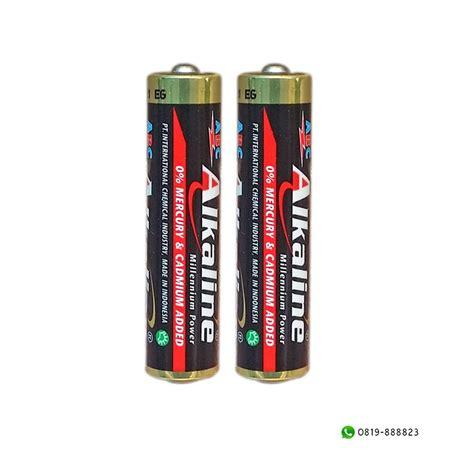 Baterai Aaa Abc Alkaline jual baterai abc alkaline aaa millenium power 1 5v 4 plus