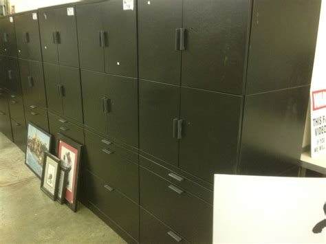 6 Drawer Lateral File Cabinet Herman Miller Meridian Black 6 2 Drawer Lateral File Cabinet With 4 Door Storage On Top