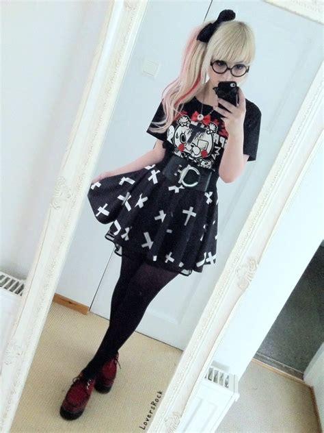 kawaii pastel goth fashion tumblr pastel goth selfie pastel goth know your meme