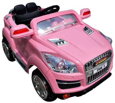 pink toy jeep review of girls pink crossover jeep 12v suv ride on a cool
