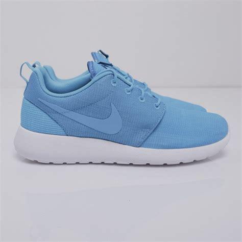sneakers nike roshe run blue lagoon blue lagoon light
