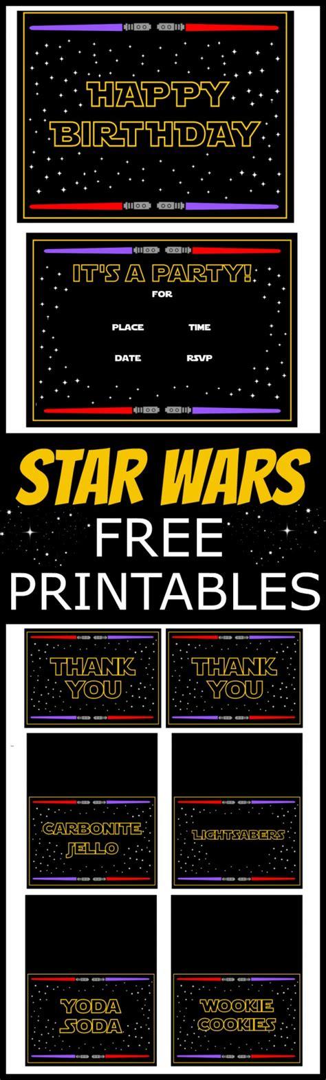 printable star wars star wars banner tutorial star wars birthday pinterest