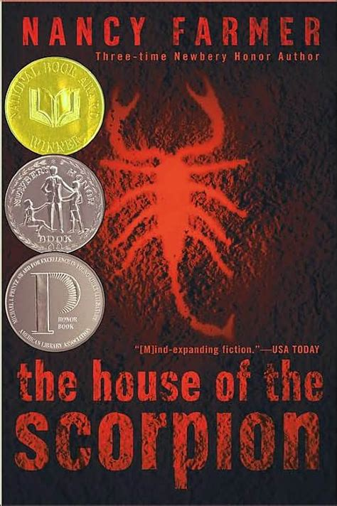 the house of the scorpion from the bookshelf of t b the house of the scorpion by