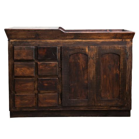 Wood Bathroom Vanity Alden Reclaimed Bathroom Vanity For Sale Fit For Any Bathroom