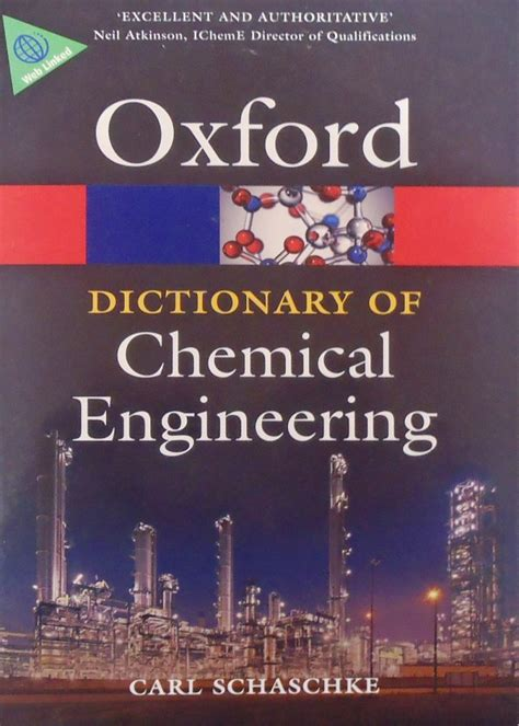 dictionary  chemical engineering   english book
