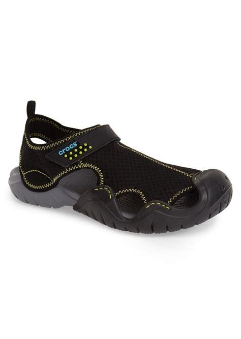 croc water shoes crocs crocs swiftwater water shoe sport sandal