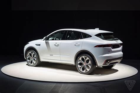 Jaguar Jaguar jaguar reveals e pace the crossover suv for millennial