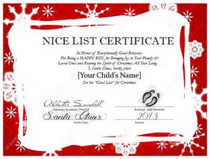 santa certificate template messages from santa mypapercraze