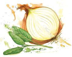 d arta vegetables sketch i painted this with ink watercolor my