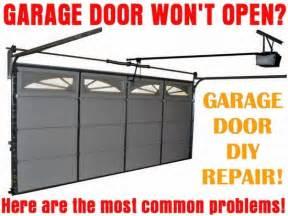 Garage Not Opening Garage Door Will Not Open How To Fix A Stopped Door