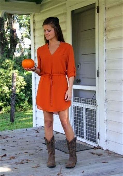 fall dresses with boots fall fashion dress cowboy boots southern
