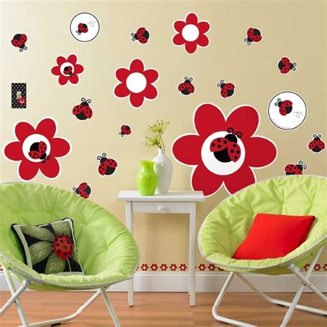 ladybug bedroom ideas 55 best daycare wall painting images on pinterest