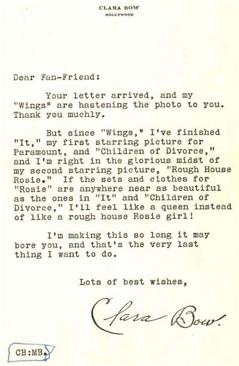 Fan Letter