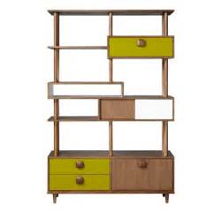 Home Shelving Units Orla Kiely Open Shelving Unit From Blisshome Bookcases