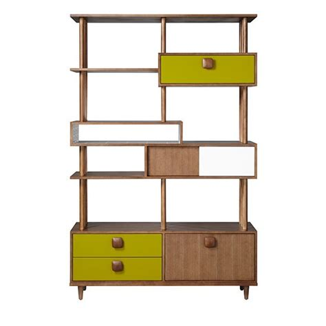 home shelving orla kiely open shelving unit from blisshome bookcases