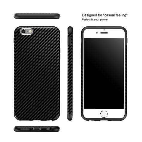 Iphone 6 Plus Soft Sheep Skin Free 2pcs Colour newest environmental carbon fiber ᗔ for iphone