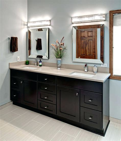 mirrors over bathroom vanities bathroom mirrors for double vanity amlvideo com