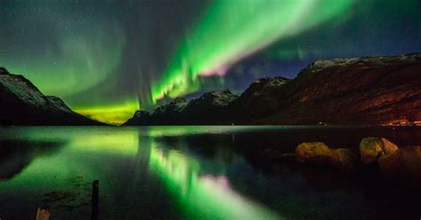 how far north to see northern lights northern lights visible in ni tonight here s how and