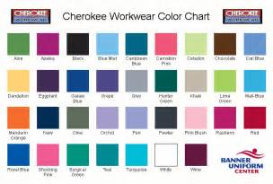 scrub colors uniforms color chart nursing scrubs