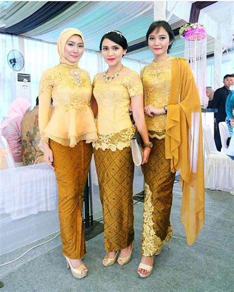 Setelan Kebaya Rok N Blouse Batik Sabrina Etnic model kebaya batik kuning inspirasi kebaya indonesia