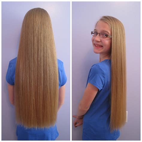 long 16 year old hairstyles long hair to shorter hair locks of love haircut
