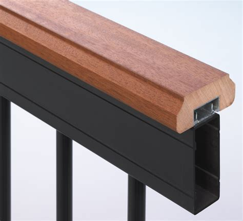 banister post caps deckorators aluminum deck railing kit features new