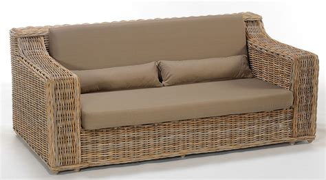 Wicker Sofa Beds Wicker Sofa Bed Smileydot Us