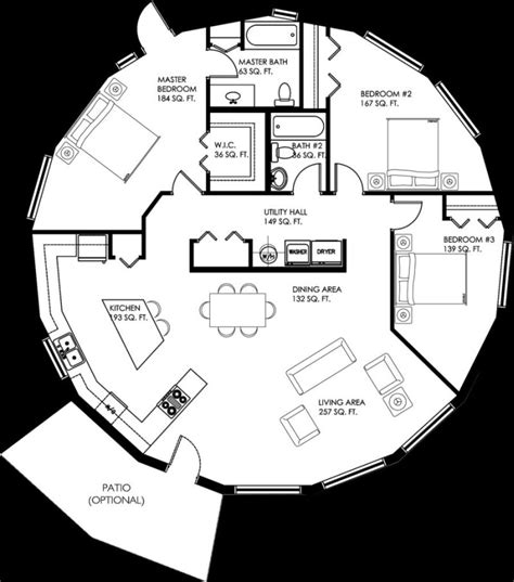 circular floor plans circular house plans shapes from nature