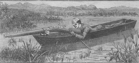 small boat used by wildfowlers punt gun international small craft center