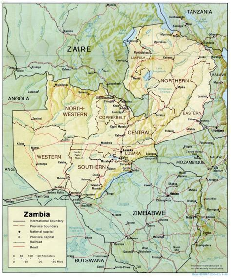 zambia maps perry castaneda map collection ut library