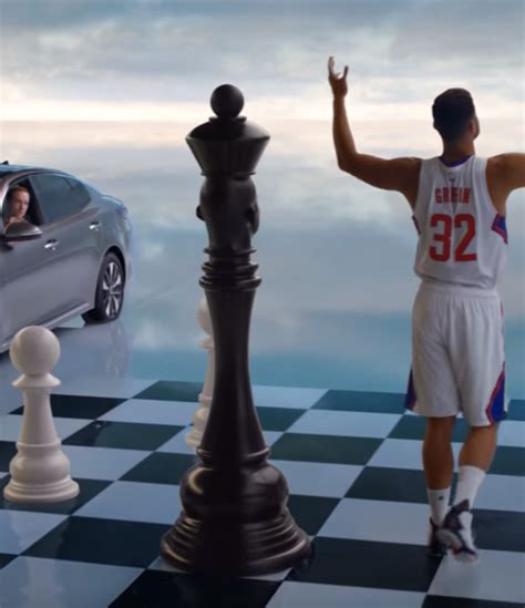 Griffin Commercial Kia Griffin Gets Into The Zone Again And Plays Chess