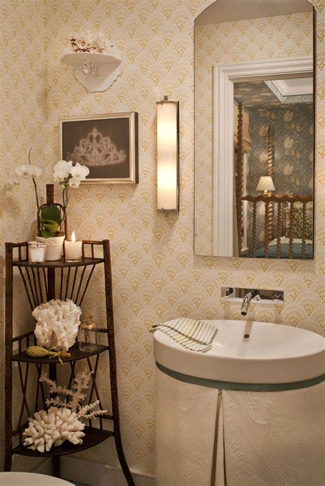 ideas for bathroom decorating wallpaper ideas to make your bathroom beautiful ward log homes