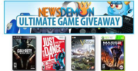 newsdemon newsgroups video game giveaway newsgroup reviews blog - Free Video Game Giveaways