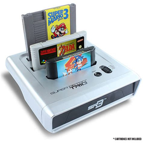 Retro Console System Brings Together The Best Of The 20th Century by Got Classic Nintendo Or Sega Cartridges But No Console