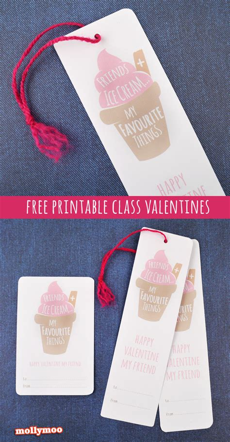 printable school valentines cards mollymoocrafts free printable school valentines for