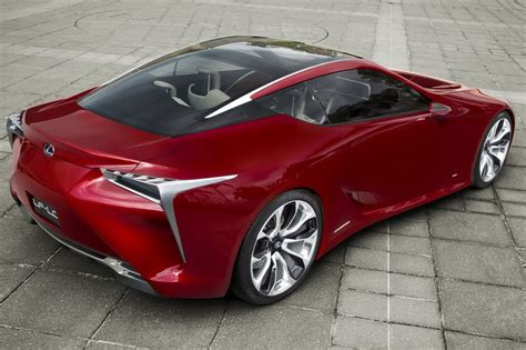sporty lexus coupe lexus lf lc sports coupe concept bows at the detroit auto